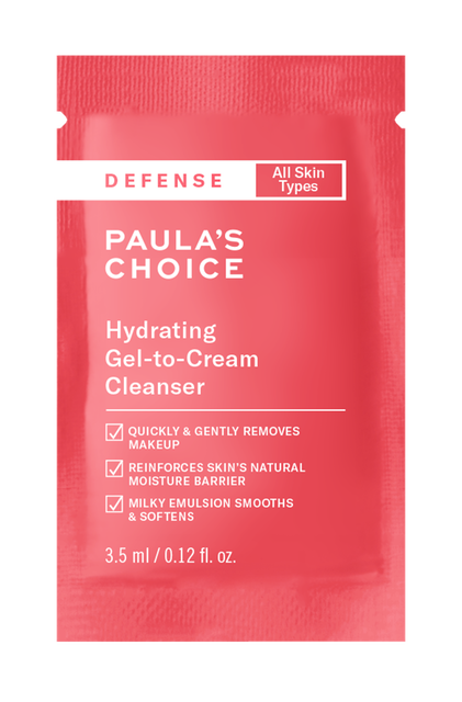 Defense Hydrating Gel-to-Cream Cleanser Sample