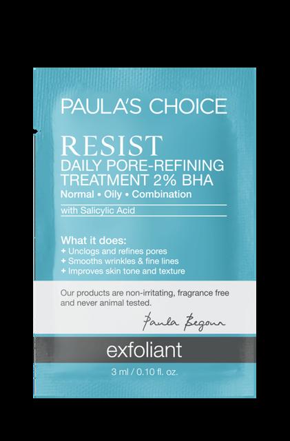 Resist Anti-Aging Daily Pore-Refining Treatment BHA Sample