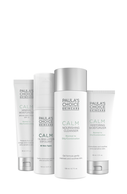 Calm Redness Relief Combination to Oily Skin