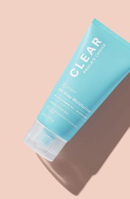 Clear Oil-Free Crème de Nuit