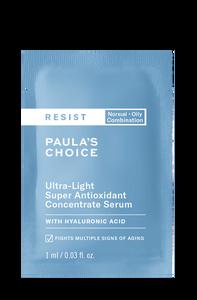 Resist Anti-Aging Ultra-Light Super Antioxidant Concentrate Serum Sample