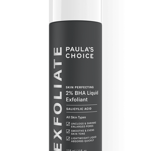 Paula's Choice Skin Perfecting BHA Liquid Exfoliant.