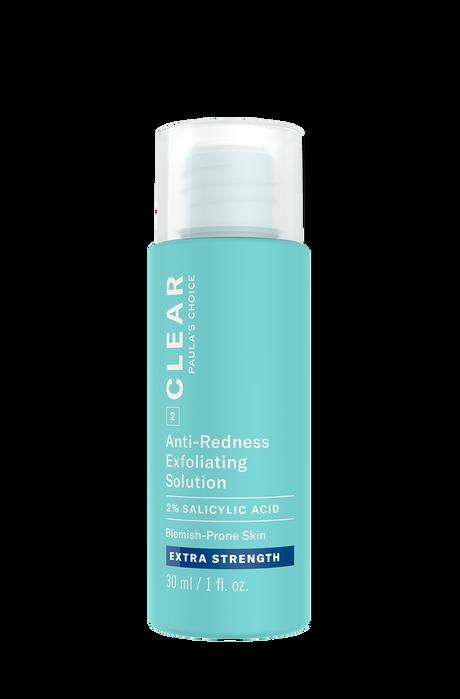 Clear Extra Strength Anti-Redness Exfoliating Solution Salicylic Acid Trial Size