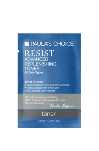 Resist Advanced Replenishing Toner Sample