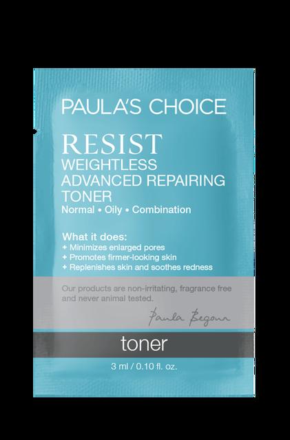 Resist Anti-Aging Weightless Advanced Repairing Toner Sample