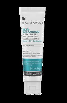 Skin Balancing Crème de jour SPF 30